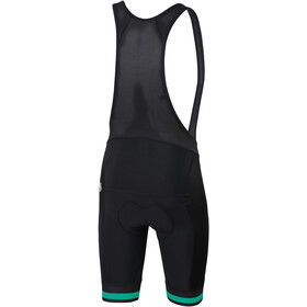 Sportful Bodyfit Team Classic Bib Shorts Herr black/bora green